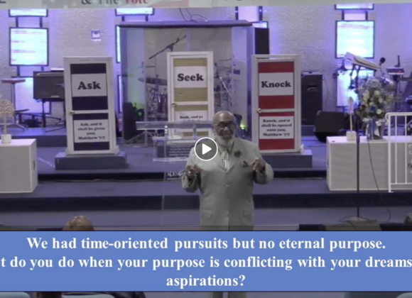 My Pursuits for God's Purpose