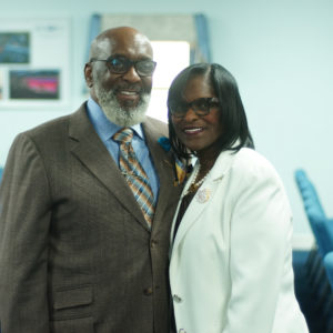 DR. ERIC & MRS. BLONEVA JONES